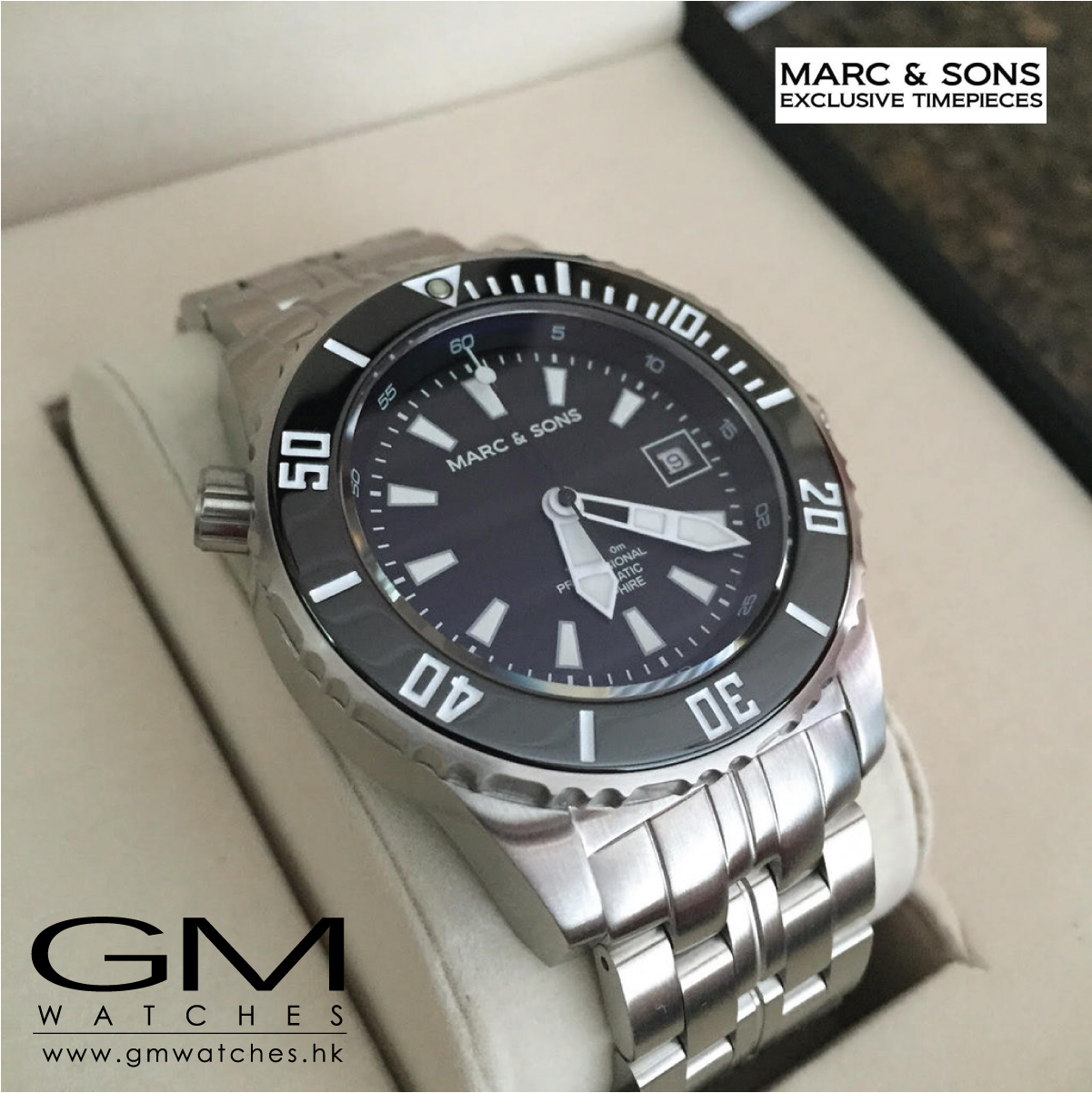 Marc Amp Sons Sport Diver Watch Msd 037 Gm Watches Hk